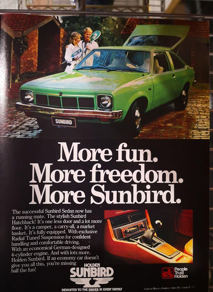 Sunbird With RTS Advertisment